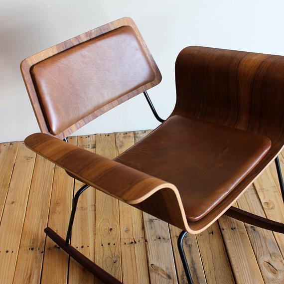 เก้าอี้ไม้สไตล์วินเทจ