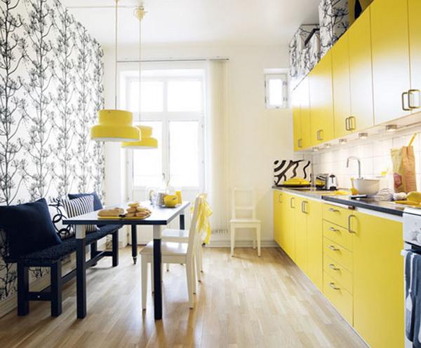 แต่งบ้านโทนสีเหลือง