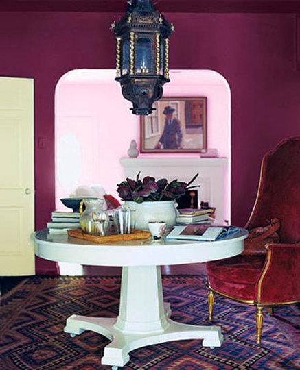 แต่งห้องโทนสีม่วง
