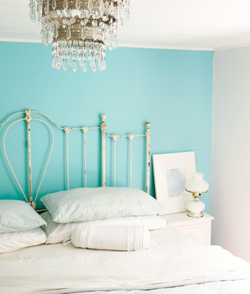 ห้องนอนสีฟ้า
