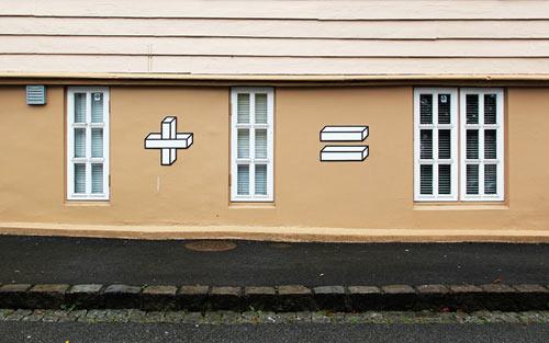 งานศิลปะผนังบ้าน