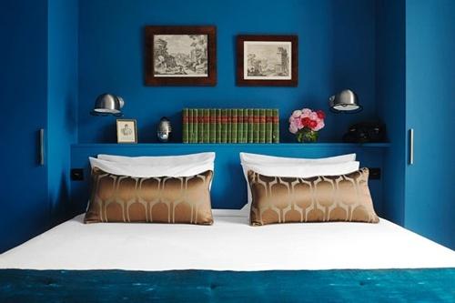 ห้องนอนสีน้ำเงิน