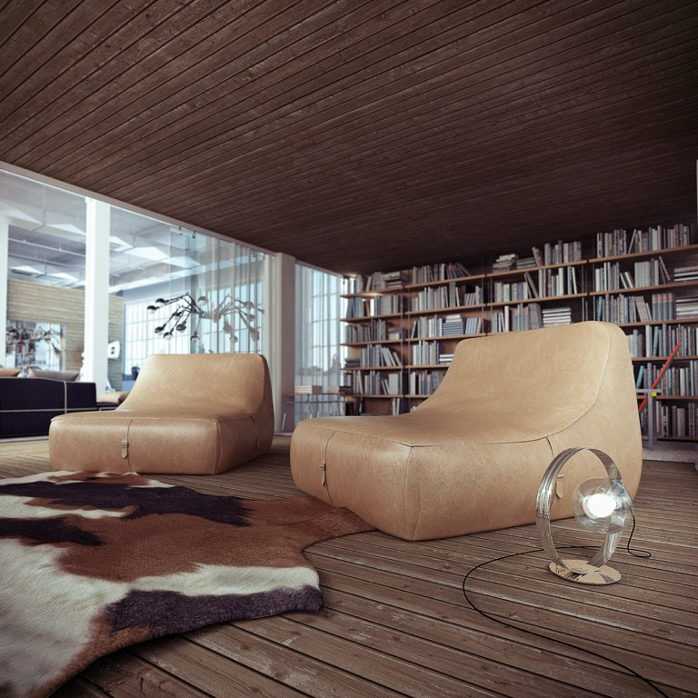 Loft Style - บ้านตกแต่ง สไตล์ลอฟท์