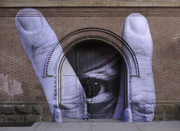 ภาพถ่ายศิลปะ มนุษย์ล่องหน