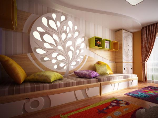 ห้องนอนเด็ก ห้องสวย