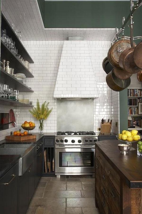 แบบห้องครัว ผนังกระเบื้อง