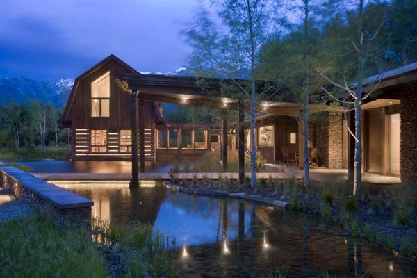 แบบบ้านไม้ บ้านชั้นเดียว