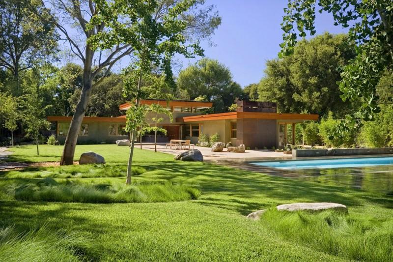 แบบบ้านเดี่ยวสวยๆ สวนหน้าบ้าน