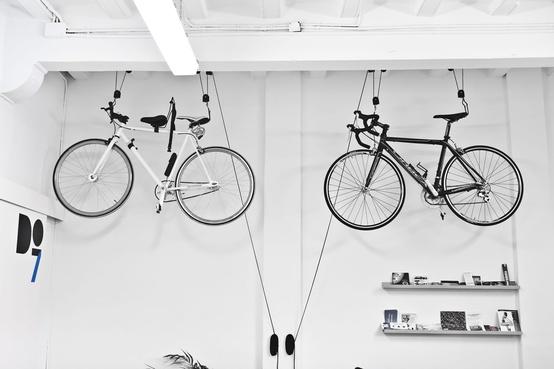 รวมไอเดียการเก็บจักรยานในบ้าน