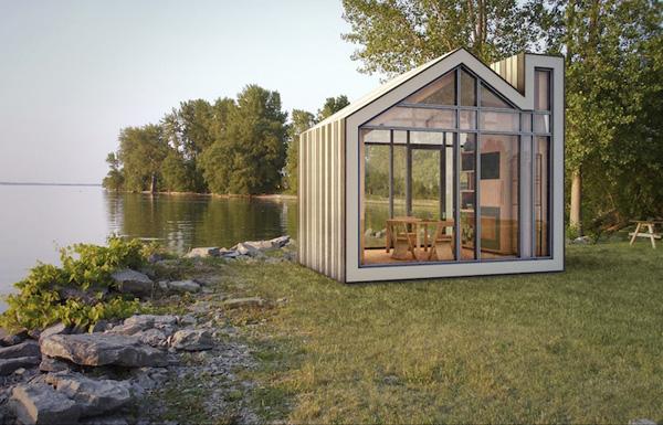 บ้านสำเร็จรูป บ้านไม้ขนาดเล็ก