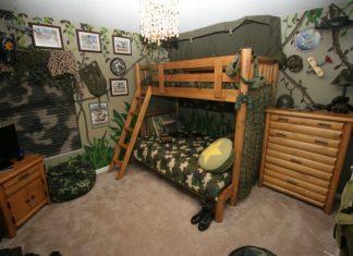 ห้องนอนเด็กผู้ชาย