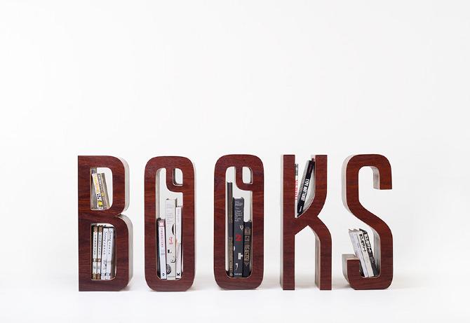 ชั้นหนังสือ ไอเดียเก๋ไก๋