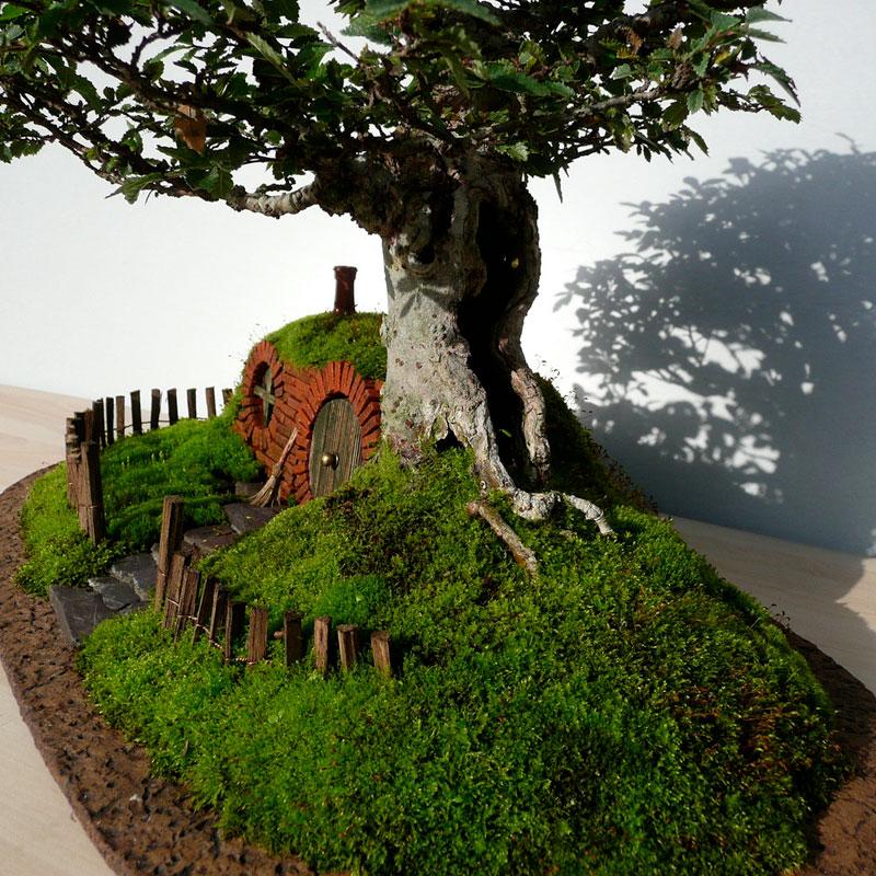 งาน DIY สวนถาด