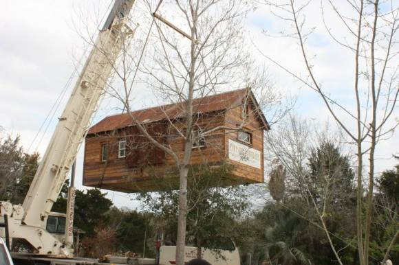 บ้านไม้สำเร็จรูป ยกพื้นต่ำ