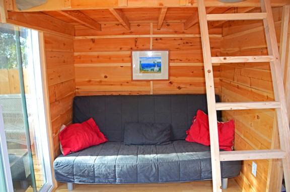 บ้านไม้ชั้นเดียวหลังเล็ก แบบบ้านสำหรับคนต่างจังหวัด