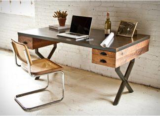 โต๊ะไม้ นั่งทำงาน