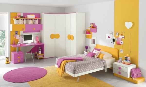 แบบห้องนอนเด็ก มีสีสัน สวยงามทันสมัย