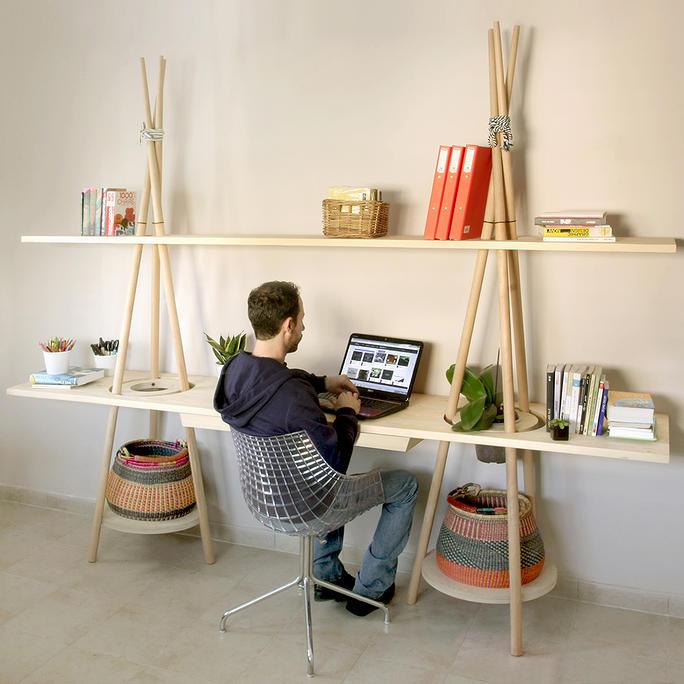 โต๊ะ ชั้นวางของ