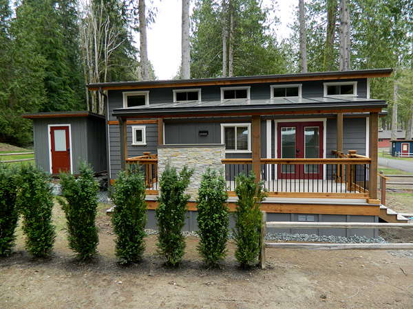 แบบบ้านไม้2ชั้น หลังเล็ก สำหรับพักตากอากาศ