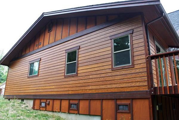 แบบบ้านไม้ หลังคาจั่วสามเหลี่ยม ไอเดียสำหรับการสร้างบ้านต่างจังหวัด