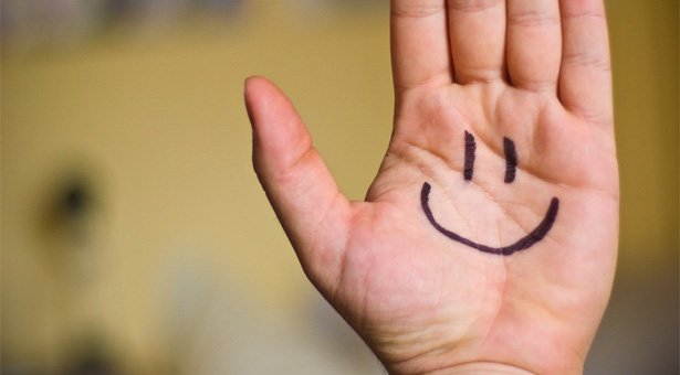 Smile Happy Hand