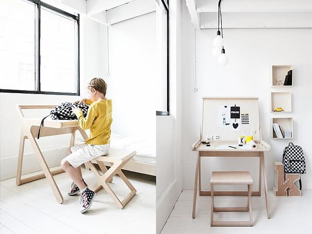 แบบโต๊ะทำงานเด็ก