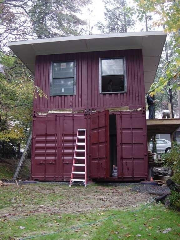 30 แบบบ้านตู้คอนเทนเนอร์ ราคาประหยัด