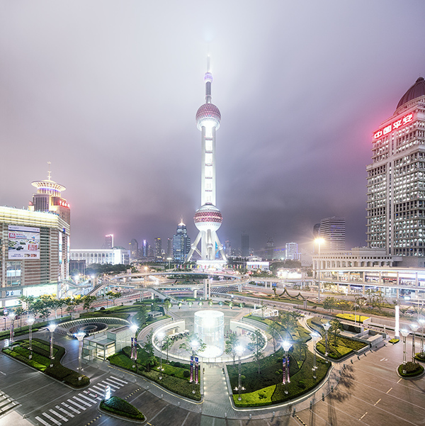 สถาปัตยกรรม และตึกสวยๆ ในเซี่ยงไฮ้ ประเทศจีน
