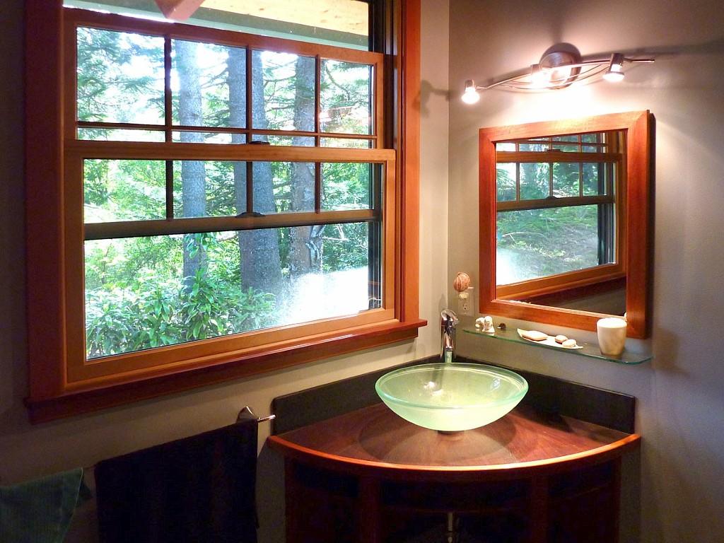แบบห้องน้ำ บ้านไม้