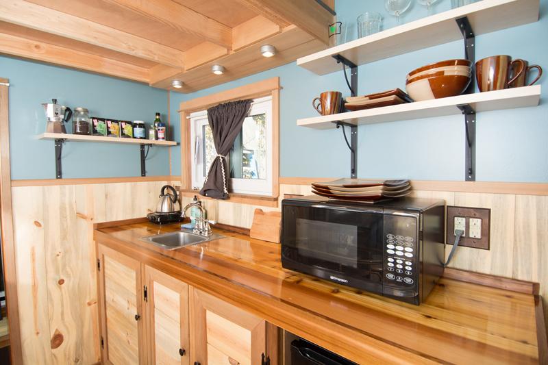 แบบห้องครัว บ้านไม้