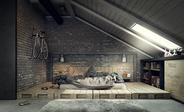 for Casa moderna tipo loft