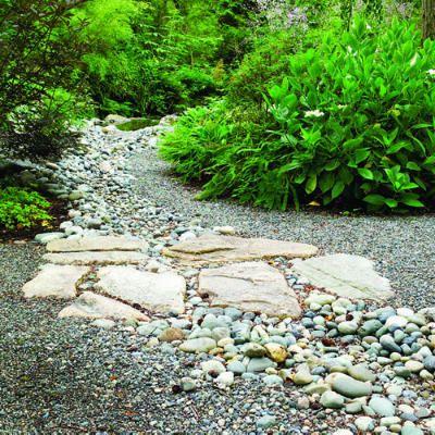 สวนหิน ลำธารหิน ตกแต่งสวน