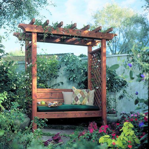 ศาลาพักผ่อนในสวน