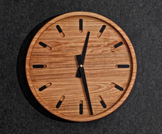 นาฬิกาไม้ ติดผนัง