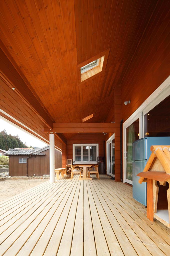 แบบบ้านไม้ยกพื้น ชั้นครึ่ง สไตล์ญี่ปุ่น