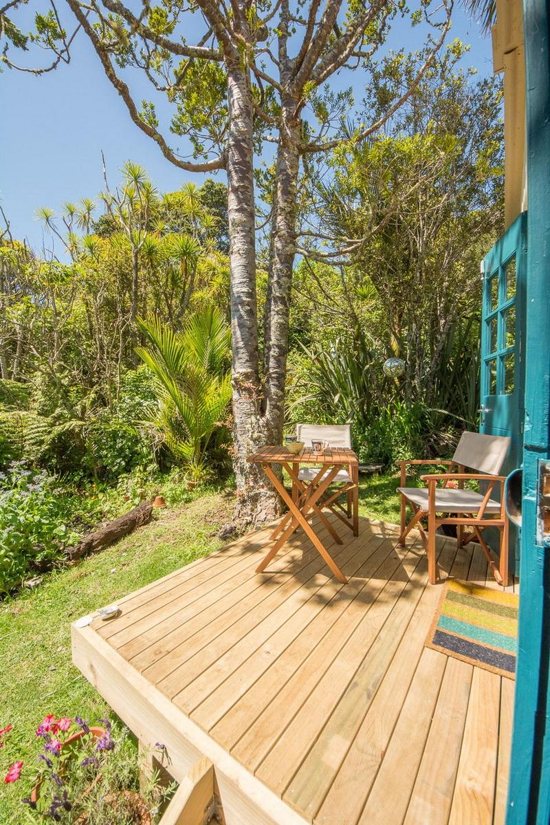 แบบโฮมสเตย์ บ้านพักเล็กๆ ในบรรยากาศสวน ต้นไม้ ร่มรื่น