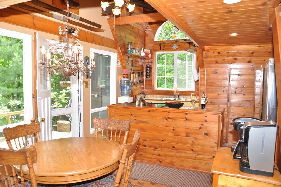 แบบห้องครัวบ้านไม้