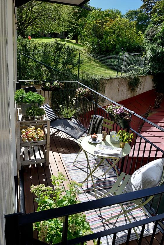 ไอเดียตกแต่งสวนเล็กๆ บนระเบียงบ้าน คอนโด