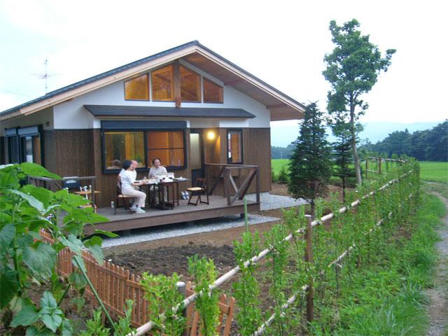 บ้านไม้ญี่ปุ่น ชั้นเดียวหลังเล็ก กับวิถีชีวิตที่เรียบง่าย