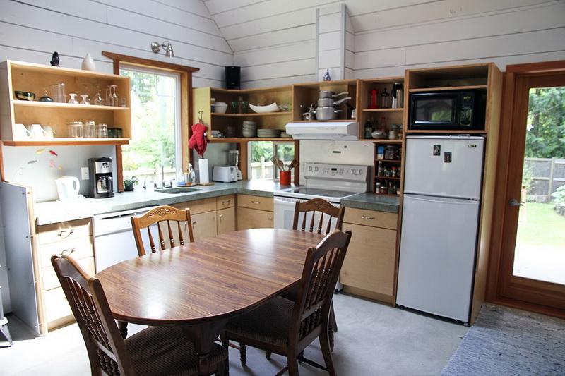 ห้องครัวบ้านไม้สไตล์คอทเทจ