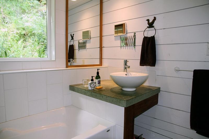 ห้องน้ำบ้านไม้สไตล์คอทเทจ