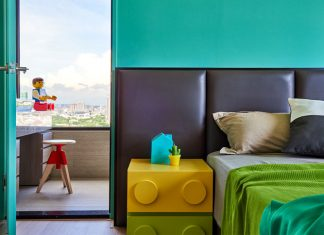 ไอเดียตกแต่งห้องเด็ก มี LEGO เป็นไฮไลท์