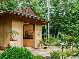 ศาลาญี่ปุ่น โรงจัดเก็บ จัดแสดงบอนไซในสวนสไตล์ญี่ปุ่น