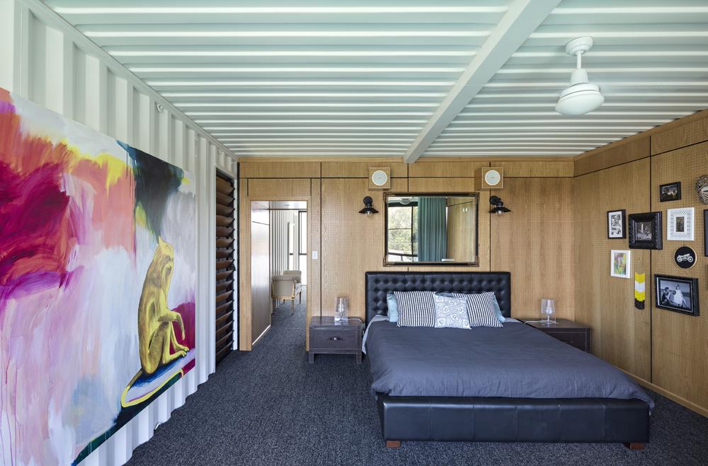 แบบบ้านตู้คอนเทนเนอร์ 3 ชั้น บ้านสไตล์โมเดิร์น ทันสมัย