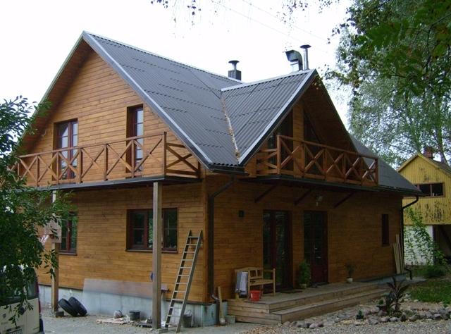 บ้านไม้สไตล์ยุโรป ไอเดียสร้างบ้านอยู่ต่างจังหวัด