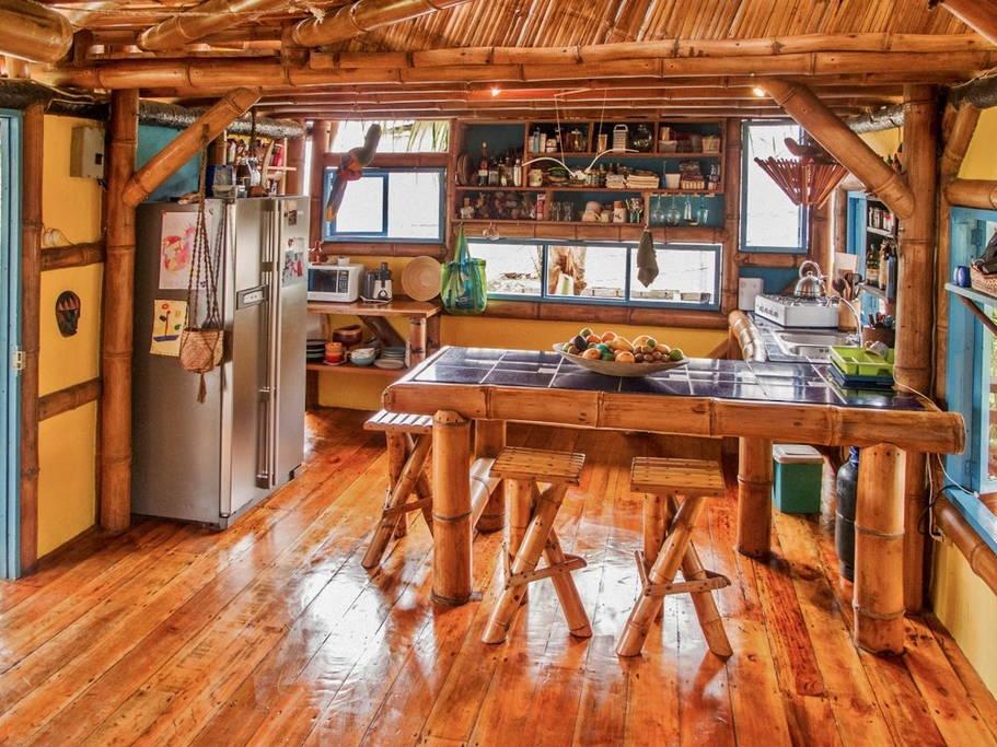 อลังการ บ้านไม้ไผ่ 3 ชั้น ECO เป็นมิตรกับสิ่งแวดล้อม