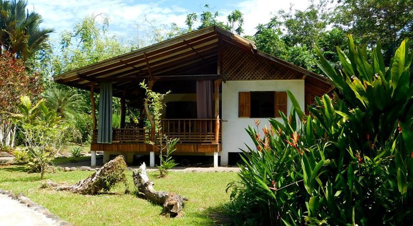 บ้านยกพื้นปูนกึ่งไม้ มีระเบียงเป็นพื้นที่พักผ่อน ในบรรยากาศสวนเรียบง่าย