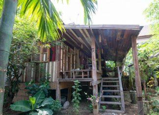 บ้านไม้เก่ายกพื้น สไตล์เรือนไทยโบราณ ผสมผสานกลิ่นอายล้านนา