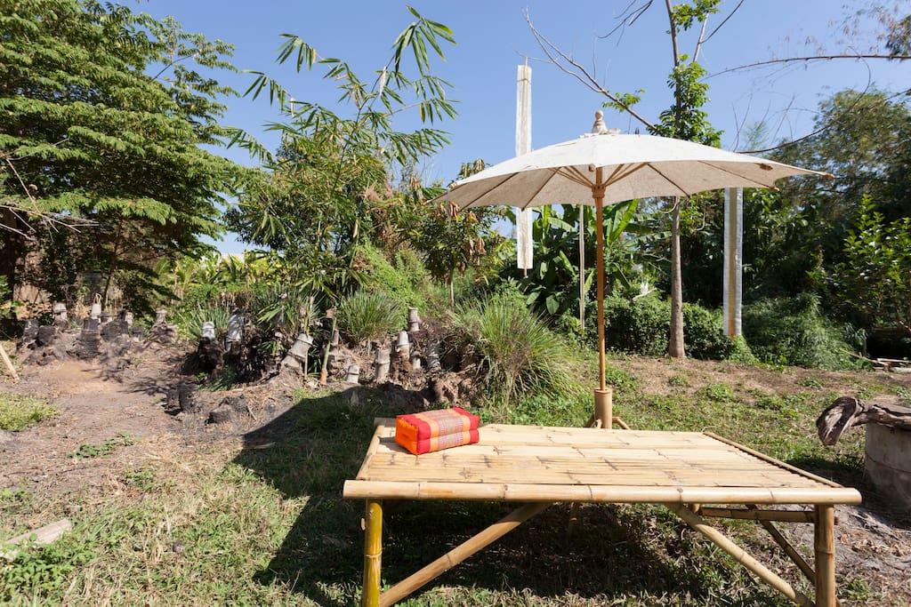 บ้านครึ่งปูนครึ่งไม้ เรียบง่าย ตามวิถีชีวิตครอบครัวไทย