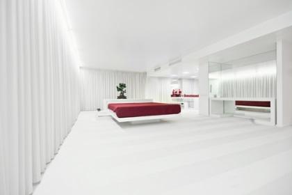 ห้องนอนและห้องนั่งเล่น